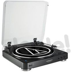 Gramofon Audio-Technica Audio Technica AT-LP60BKBT Fully Automatic Wireless Belt-Drive Stereo Turntable, Black - AT-LP60BKBT Darmowy odbiór w 19 miastach!