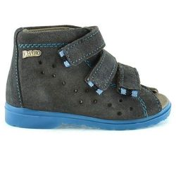 Dziecięce buty profilaktyczne Dawid 1041 - Niebieski ||Szary