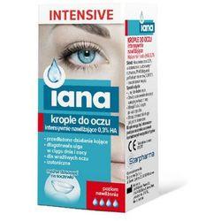 IANA INTENSIVE Intensywnie nawilżające krople do oczu 10 ml