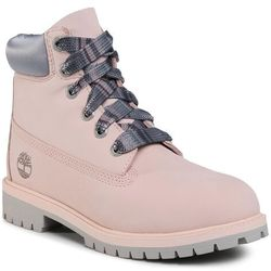 Trapery TIMBERLAND - Premium 6 In Waterproof Boot TB0A2F6DN971 Light Pink Nubuck