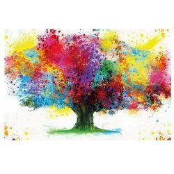 Canvas 60 x 90 cm kolorowe drzewo 005
