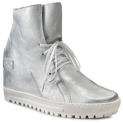 Sneakersy EKSBUT - 75-3975-369-1G Srebro Licowa