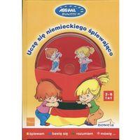 Książki dla dzieci, Uczę się niemieckiego śpiewająco + CD (opr. twarda)