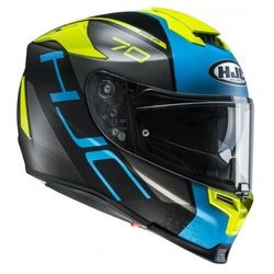 HJC R-PHA-70 VIAS FLUO YELLOW/BLUE Kask integralny