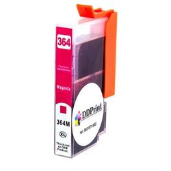 TUSZ do HP 364XL (CB324EE) / magenta, purpura / do hp 5510, 5514, 5515, 6510, 7510, … / nowy - Zamiennik - M - Purpurowy (Magenta) / 14,5ml