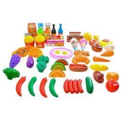Zestaw Art Spożywczych Warzywa Owoce Zabawa Sklep