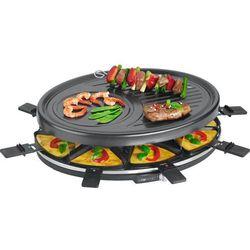Grill elektryczny Clatronic RG 3517 (1400W stołowy-otwarty z raclette, czarny)- wysyłamy do 18:30