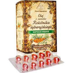 Olej z Owoców Rokitnika, Suplement Diety, 60 kapsułek 500 mg