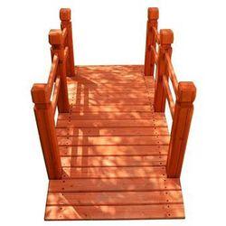 Drewniana kładka mostek ogrodowy Garth 150 cm