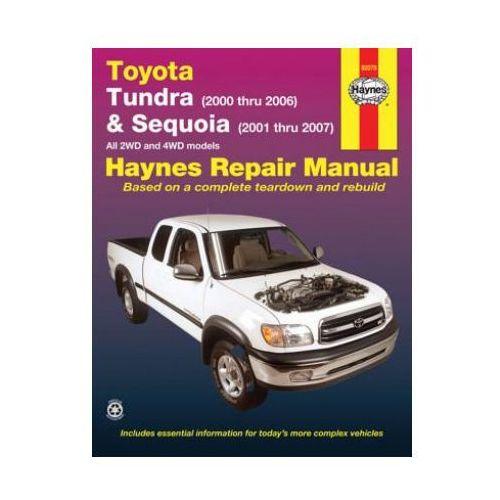 Biblioteka motoryzacji, Toyota Tundra & Sequoia 00-07 (opr. miękka)