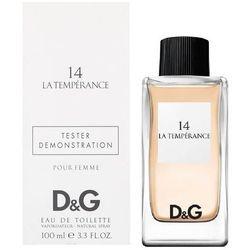 Dolce & Gabbana 14 La Temperance, Woda toaletowa – Tester, 100ml