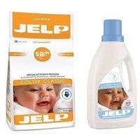 Płyny do prania, JELP Proszek Color Classic 4kg + GRATIS: Jelp płyn Delicate 1l