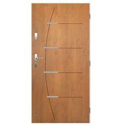 Drzwi wejściowe BORDEAUX Dąb winchester 90 Prawe PANTOR