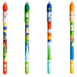 Długopis wymazywalny Cool Gang, 0,5 mm - niebieski (HA 4120 01C1-3). mix wzorów