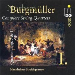 N. Burgmuller - String Quartets Op.7&14