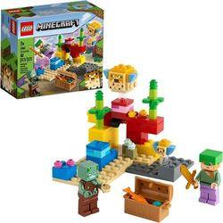 Lego MINECRAFT Rafa koralowa the coral reef 21164
