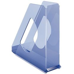 Pojemnik na dokumenty Esselte Europost Solea przezroczysty niebieski 623567