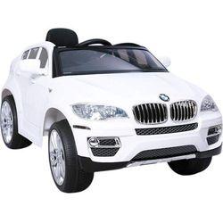HECHT BMW X6 WHITE SAMOCHÓD TERENOWY ELEKTRYCZNY AKUMULATOROWY AUTO JEŹDZIK POJAZD ZABAWKA DLA DZIECI + PILOT DYSTRYBUTOR AUTORYZOWANY DEALER HECHT promocja (-7%)