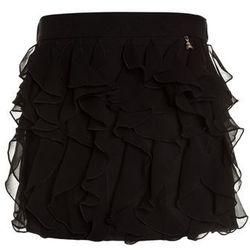 Patrizia Pepe SKIRT Spódnica mini black