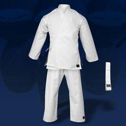 kimono do karate TONBO - JUNIOR, białe, 9oz (z białym pasem)
