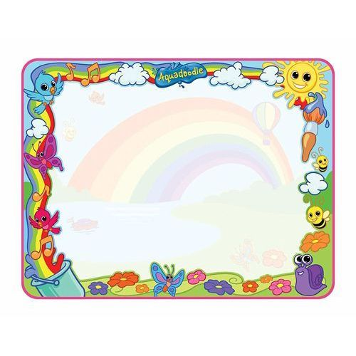 Kreatywne dla dzieci, Tomy Aquadoodle E72772 Mata do rysowania wodą Tęczowa Deluxe