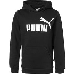 PUMA Bluza czarny / biały
