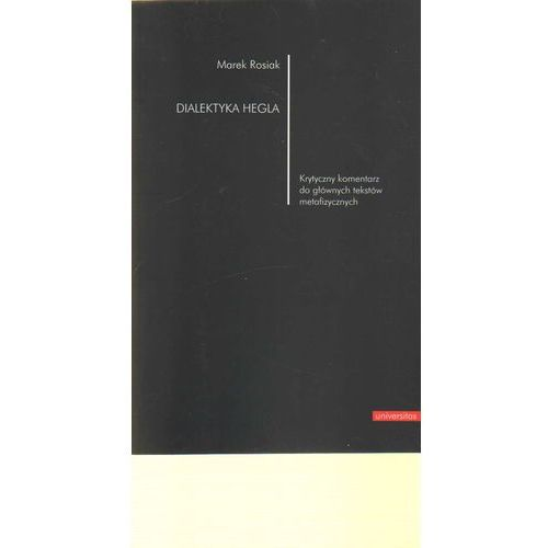 Filozofia, Dialektyka Hegla (opr. miękka)