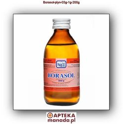 Borasol 0,3 g/1 g płyn 200 g