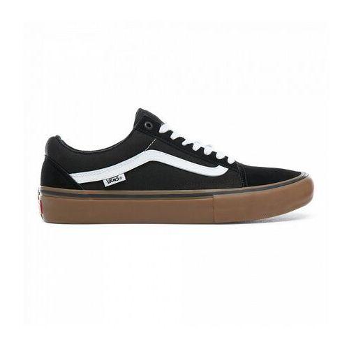 Obuwie sportowe dla mężczyzn, buty VANS - Old Skool Pro Black/White/ (BW9) rozmiar: 35