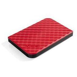 Zewnętrzny dysk twardy Verbatim Store 'n' Go GEN2 1TB (53203) Czerwony