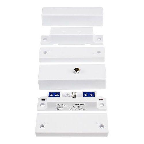 Czujki alarmowe, MC 440 Kontaktron magnetyczny plastikowy Alarmtech