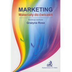 Marketing Materiały do ćwiczeń - książka (opr. broszurowa)