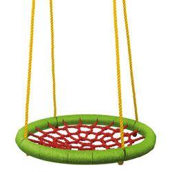 Woody zielono-czerwona huśtawka (średnica 83 cm)