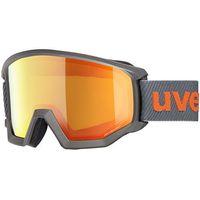 Kaski i gogle, UVEX Athletic FM Gogle, anthracite/mirror orange 2020 Gogle narciarskie