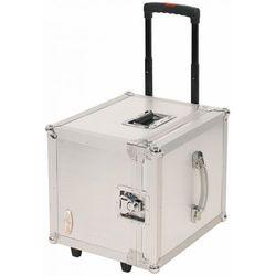 Rockcase RC-27165-A Flight Case - DJ Record Trolly for 100 Lps, futerał na płyty winylowe Płacąc przelewem przesyłka gratis!