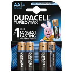 Bateria DURACELL Turbo Max LR6/AA (4 szt.)