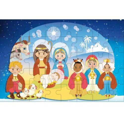 Muzyka religijna, Puzzle religijne Szopka betlejemska dla dzieci