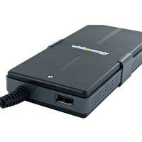 Zasilacze do obudów, Whitenergy Zasilacz uniw.90W 15-20V USB, Slim, 8 wtyczek