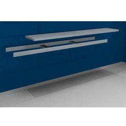 Dodatkowa półka w komplecie z trawersami i półką stalową, szer. 2500 mm, gł. 500