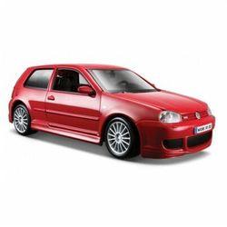 Model kompozytowy Volkswagen Golf R32 Grana czerwony 1/24