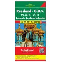 Mapy i atlasy turystyczne, Rosja 1:2 000 000 / 1:8 000 000. Mapa samochodowa, składana. Freytag&Berndt (opr. twarda)