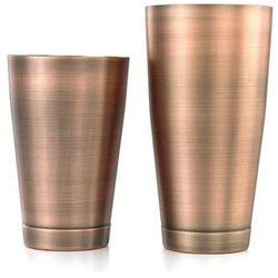 Shaker Boston 2-częściowy typu TIN&TIN 700 ml+ 500 ml antyczna miedź