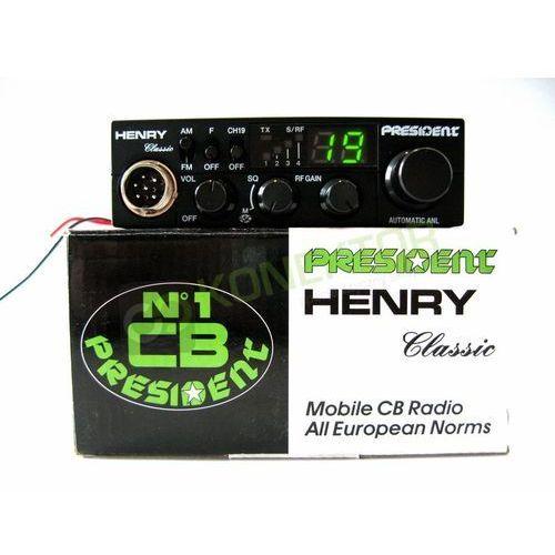 CB radia, President Henry ASC