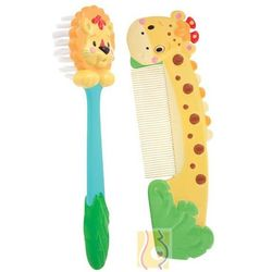 Zestaw grzebyk i szczotka do włosów S-38000