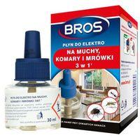 Środki i akcesoria przeciwko owadom, BROS - płyn do elektro 3w1 na muchy, komary i mrówki (BROS119)