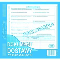 Dokument dostawy wyrobów węglowych (wielokopia) MICHALCZYK I PROKOP 2/3 A4 - G1395
