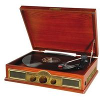 Gramofony, Gramofon HYUNDAI RT910RIP Brązowy