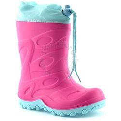 Kalosze / Śniegowce dla dzieci American Club - Różowy ||Miętowy Obuwie zimowe -10% (-10%)