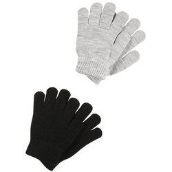Name it NITMAGIC GLOVES 2 PACK Rękawiczki pięciopalcowe black/grey melange
