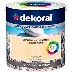 Farba Lateksowa Akrylit W Kolor Łososiowy 2.5l Dekoral